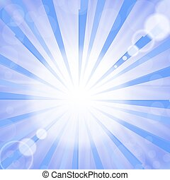 Abstract Sun Background.