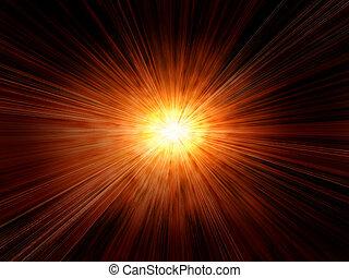 abstract sun burst background