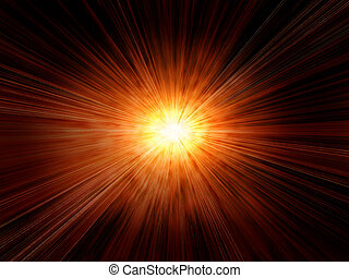 abstract sun burst background