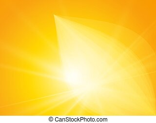 abstract sun flower rays background