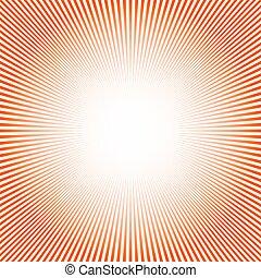 Abstract sun rays background. Vector illustration.