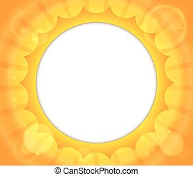 Abstract sun theme image 2