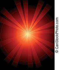 Abstract Sunburst Background - Abstract sunburst background...