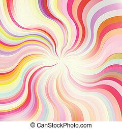 Abstract sunburst vector background
