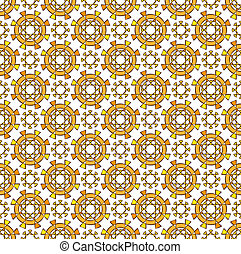 abstract sunny summer textile pattern