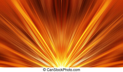 Abstract sunrise background