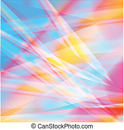 Abstract sunset sky vector background