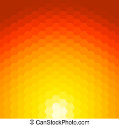 Abstract sunset vector background