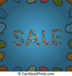 abstract superb picture - Vector. Sale. Seamless pattern. ...