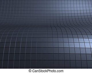 abstract surface - 3d rendered illustration of an abstract...