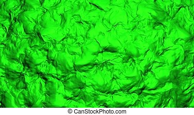 Abstract surface background in green