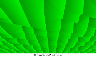 Abstract surface in green