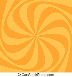 Abstract swirl background from spinned rays