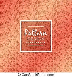 abstract swirl pattern