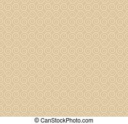 abstract swirl shape pattern