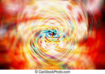 Abstract Swirling Background