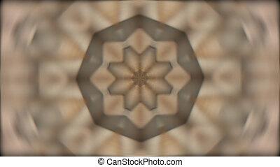 geometric kaleidoscope pattern background - Abstract...