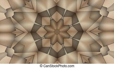geometric kaleidoscope pattern background