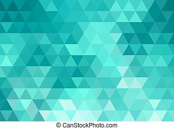 abstract teal geometric background
