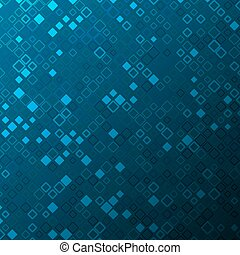abstract tech background with squares and gradient