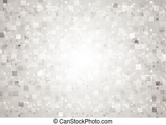 Abstract tech geometric background with squares