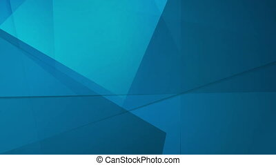 Abstract tech geometric polygonal motion design - Abstract...