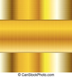 Abstract tech golden texture background
