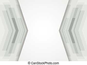 Abstract tech grey corporate background