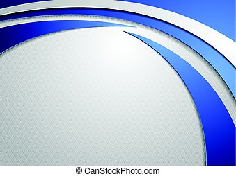 Abstract tech wavy corporate background