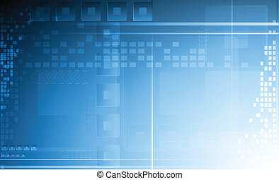 Abstract technical backdrop - Hi-tech vector background. Eps...
