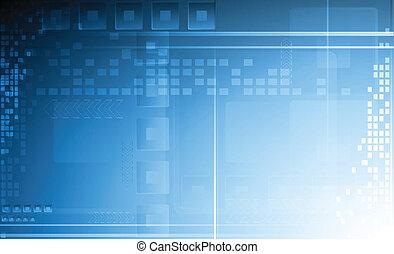 Abstract technical backdrop - Hi-tech vector background. Eps...
