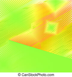 Abstract technical yellow backgroun