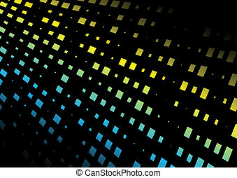 Abstract techno vector floor