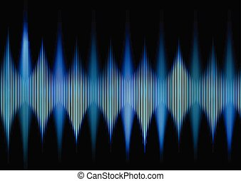 abstract techno waves background 0604