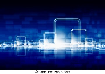 Abstract technologic background - Abstract technological...