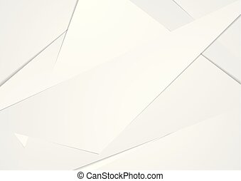 abstract, technologie, collectief, polygonal, grijze , achtergrond