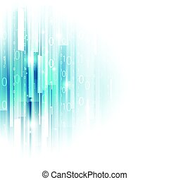 abstract, technologie, concept, achtergrond, vector, illustratie