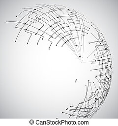 abstract, technologie, globe