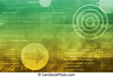 abstract, technologie