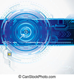Abstract Technology - Abstract technology background.