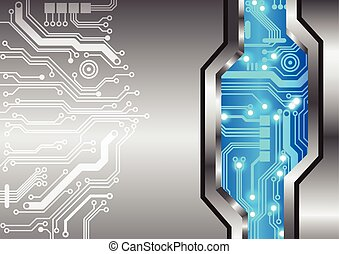 Abstract technology background circuit metal texture