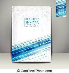 abstract technology background design for book cover