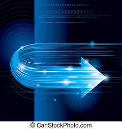 Abstract Technology Background - Abstract technology...