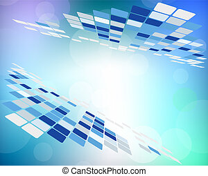 Abstract technology background for use in web design. Vector illustration.