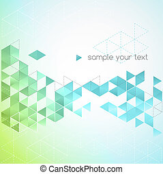 Abstract technology background in color