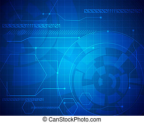 abstract technology background - technology backdrop with...