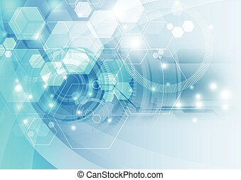 Abstract technology background ,vector illustration