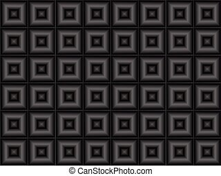 abstract technology background with metal squares