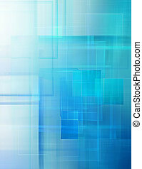 abstract technology background with squares