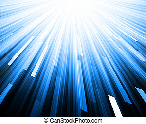 Abstract technology blue background.